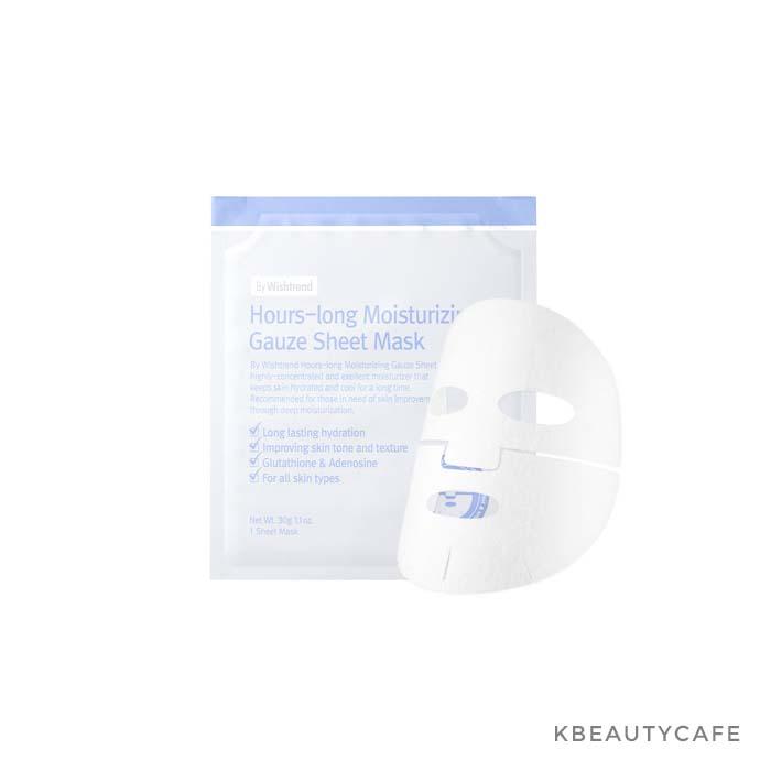 By Wishtrend Hours long moisturizing gauze sheet mask