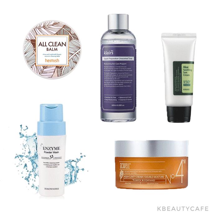 Korean Skincare Routine Starter Kit Dry