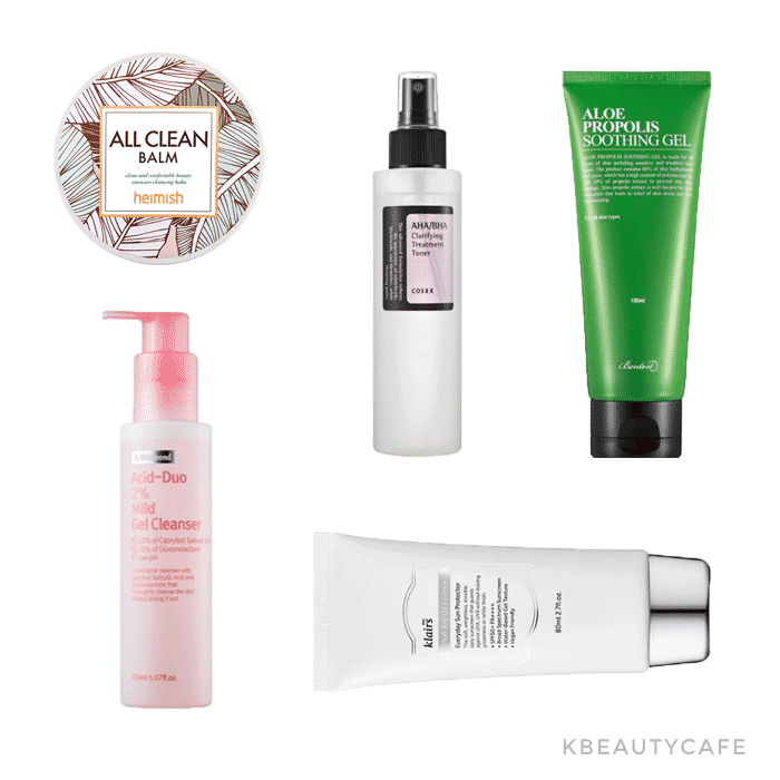 Korean Skincare Starter Kit