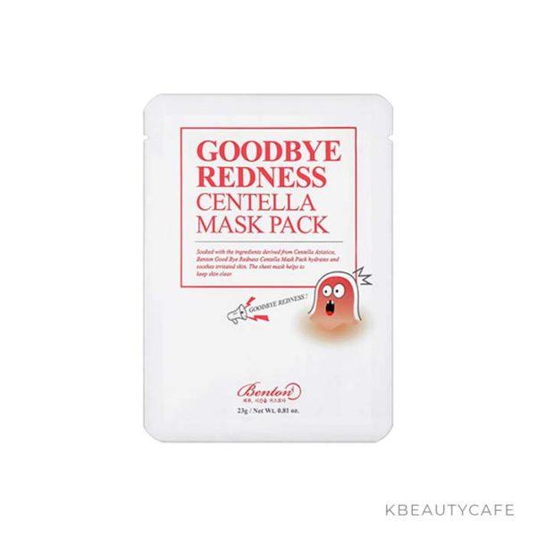Benton Goodbye Redness Centella Mask Pack