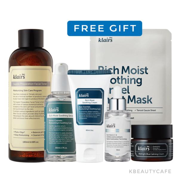 Klairs Angry Skin Calming Package