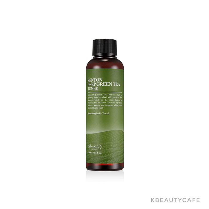benton deep green tea fresh toner